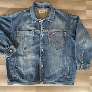 Pelle People Marc Buchanan Denim Jean Jacket